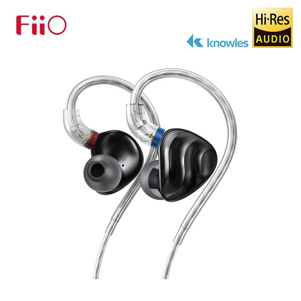 【FiiO】FH3 一圈兩鐵三單元MMCX單晶銅鍍銀可換線耳機