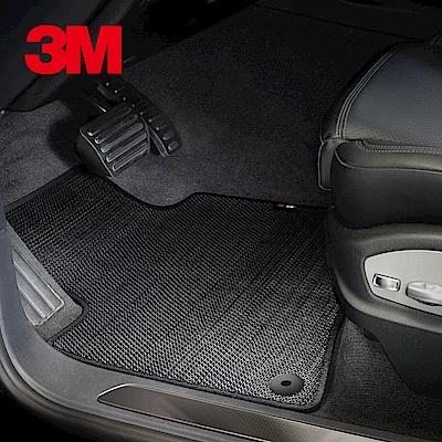 3M安美車墊 VW Tiguan (2016/08~) 適用/專用車款 (黑色/三片式)