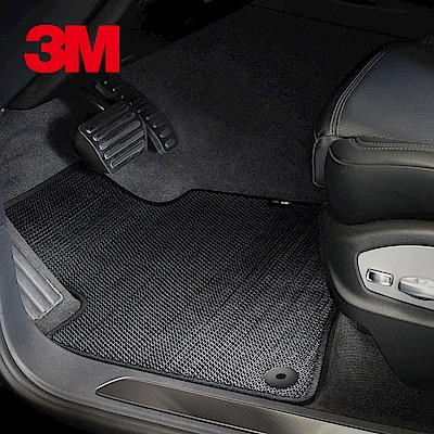 3 M安美車墊 Honda HR-V ( 2016 ~) 適用/專用車款 (黑色/三片式)
