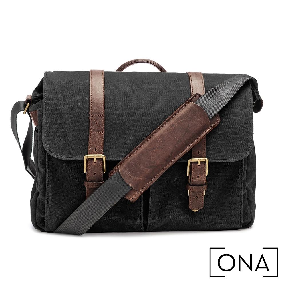 ONA Brixton 專業相機包(1機3鏡,13吋筆電適用) - 經典黑