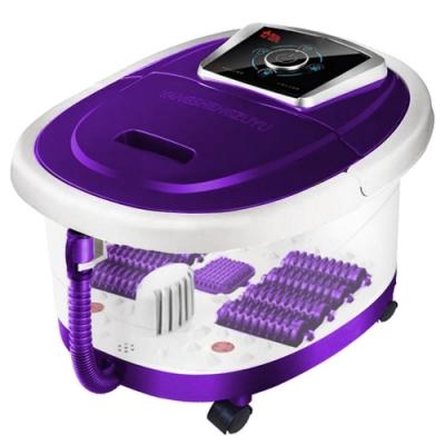 勳風 紫羅蘭全罩式氣泡滾輪泡腳機(HF-G139H)排水管+移動輪
