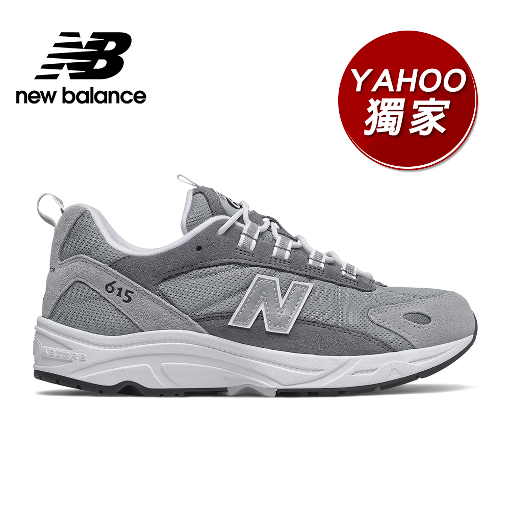 【YAHOO獨家】New Balance 復古鞋_中性_灰色_ML615KR-D楦 product image 1