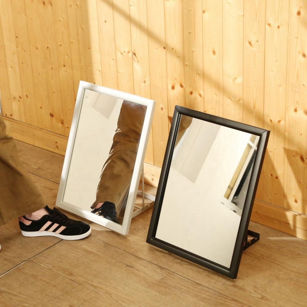BuyJM 烤漆鐵框三段角度穿鞋鏡/試鞋鏡-免組