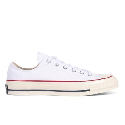 CONVERSE CTAS 70 OX 低筒休閒鞋 男女 白 162065C