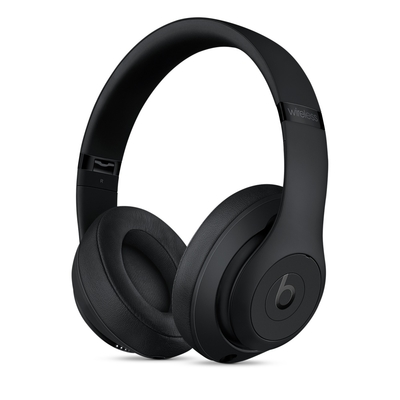 Beats Studio3 Wireless 耳罩式藍牙耳機(原廠公司貨)黑包裝-拆封福利品代理商保固
