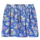 Ralph Lauren 大童碎花短裙-藍色(L12-14歲)