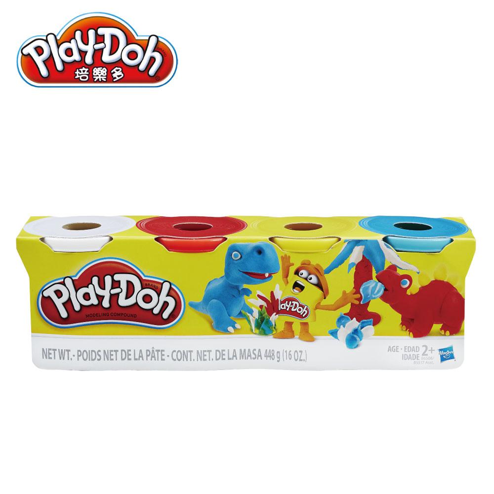 時時樂限定 Play-Doh 培樂多-四色組 小恐龍