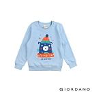 GIORDANO  童裝大自然冒險純棉T恤 - 11 粉藍