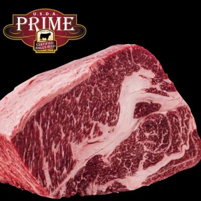 (滿額) 豪鮮牛肉 頂級熟成PRIME安格斯凝霜嫩肩沙朗心1片(400公克±10%/片)