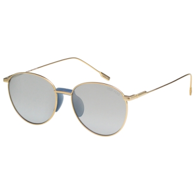 VEDI VERO 圓框 水銀面 太陽眼鏡 (金色)VE2080SN