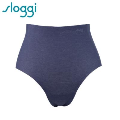 sloggi Zero Feel Cotton 零感系列混棉款高腰褲 藍寶石 74-6561 B9