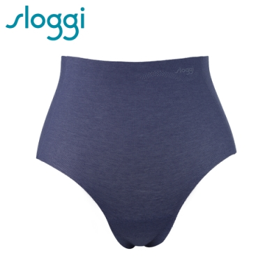 sloggi Zero Feel Cotton 零感系列混棉款高腰褲 藍寶石