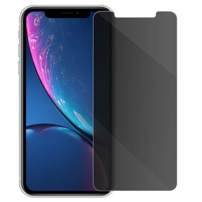 Metal-Slim Apple iPhone XR 防窺9H鋼化玻璃保護貼
