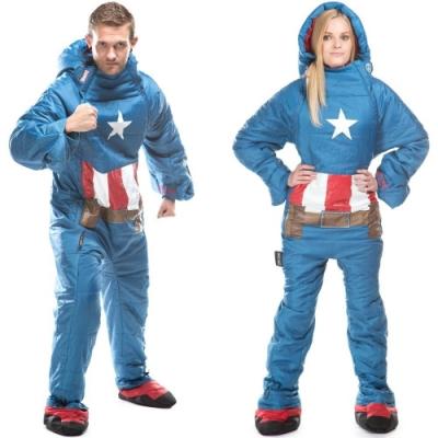 Selk Bag 神客睡袋人 MARVEL 英雄聯盟保暖睡袋 美國隊長 7°C