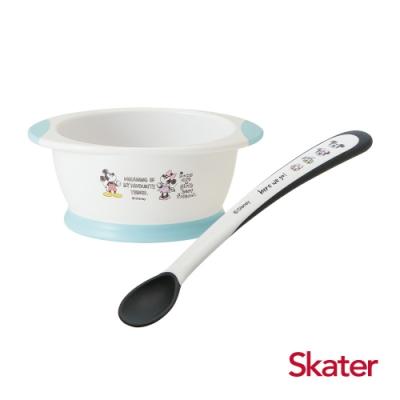 Skater幼童餐碗+湯匙 (米奇)