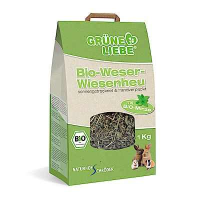 即期良品 德國施羅德 威悉有機薄荷牧草 歐盟ECOCERT有機認證-1kg-Minze85590