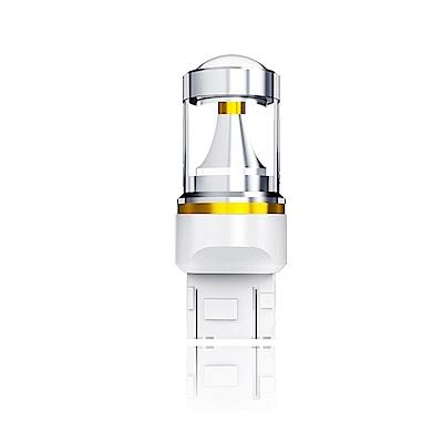 【車的LED】勁亮T20 雙芯 爆閃 6LED魚眼燈 30w白光(單入組)