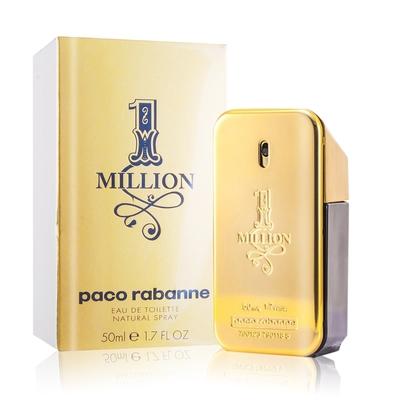 (即期品)Paco Rabanne 百萬男性淡香水50ml-期效202205