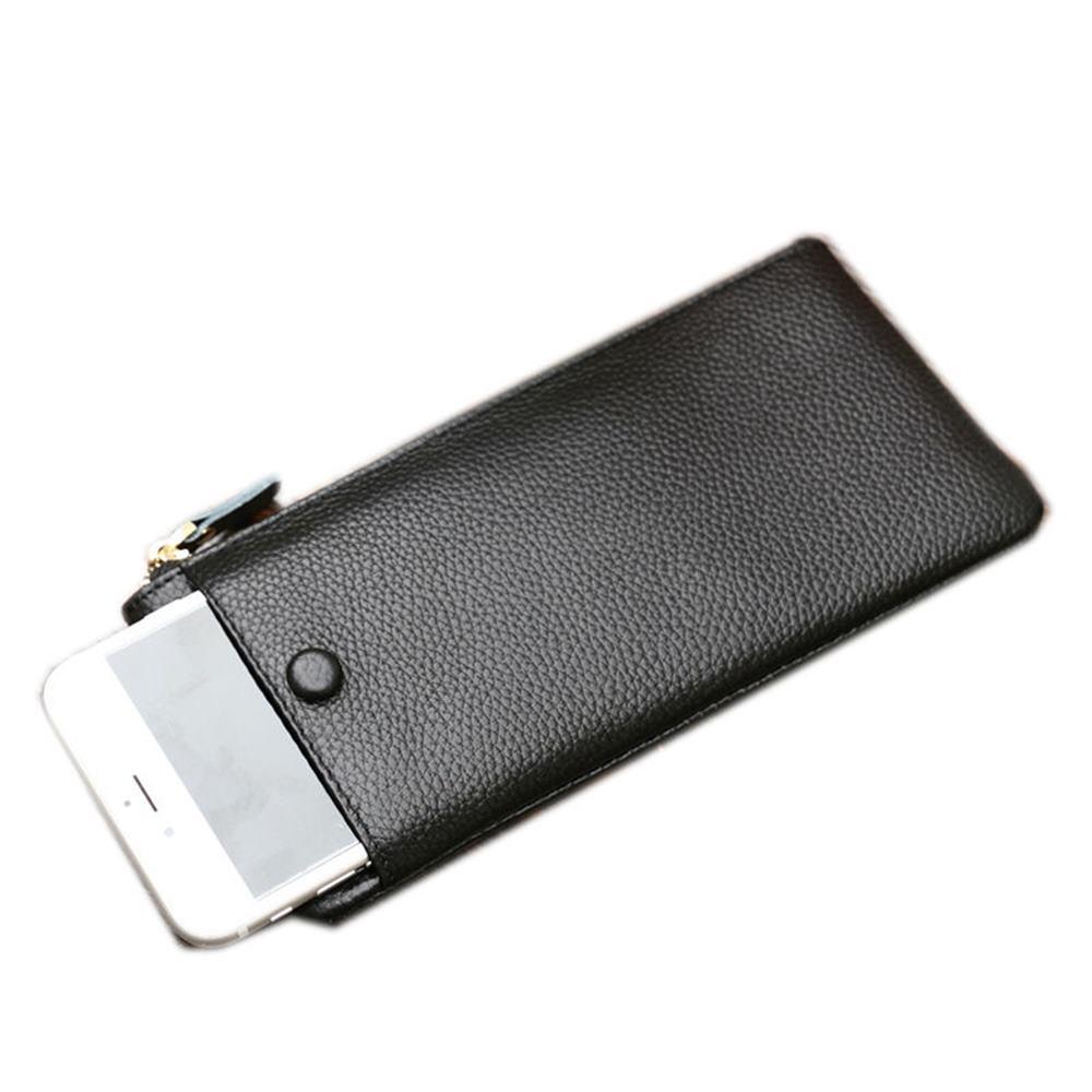玩皮工坊-真皮牛皮女士皮夾皮包錢夾錢包長夾手機包手拿包女夾-LH489