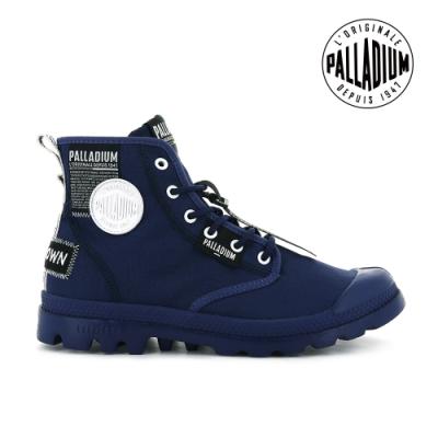 PALLADIUM PAMPA LITE OVERLAB輕量標籤軍靴-中性-寶藍