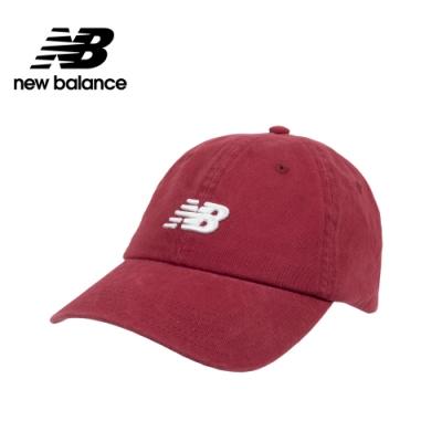 【New Balance】復古棒球帽_中性_暗紅_LAH91014NCR