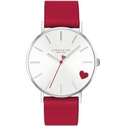 COACH 甜蜜愛戀氣質腕錶(14503515)-紅/36mm