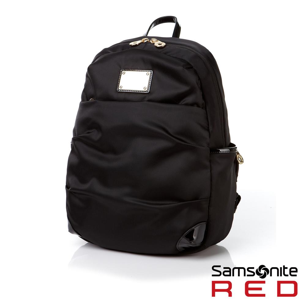 Samsonite RED LIGHTILO輕量流行設計款後背包(黑)