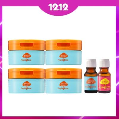 GaGa 摩洛哥護髮專科修護滋養髮膜100mlX4入組+護髮油10mlX2