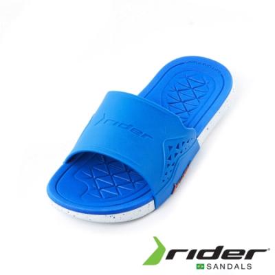 Rider 經典休閒造型拖鞋 男款 水藍