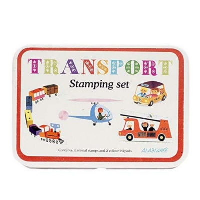 Stamp Sets Transport 印章組-交通