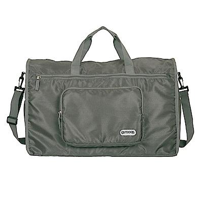 旅遊配件-摺疊旅行袋(大)-灰 ODS17B09GY