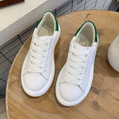 韓國KW美鞋館 嬉皮簡約百單潮流女孩休閒鞋-綠