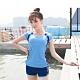 Biki比基尼妮泳衣,祥非運動泳衣有加大泳衣二件式泳衣(淡藍M-4XL) product thumbnail 1