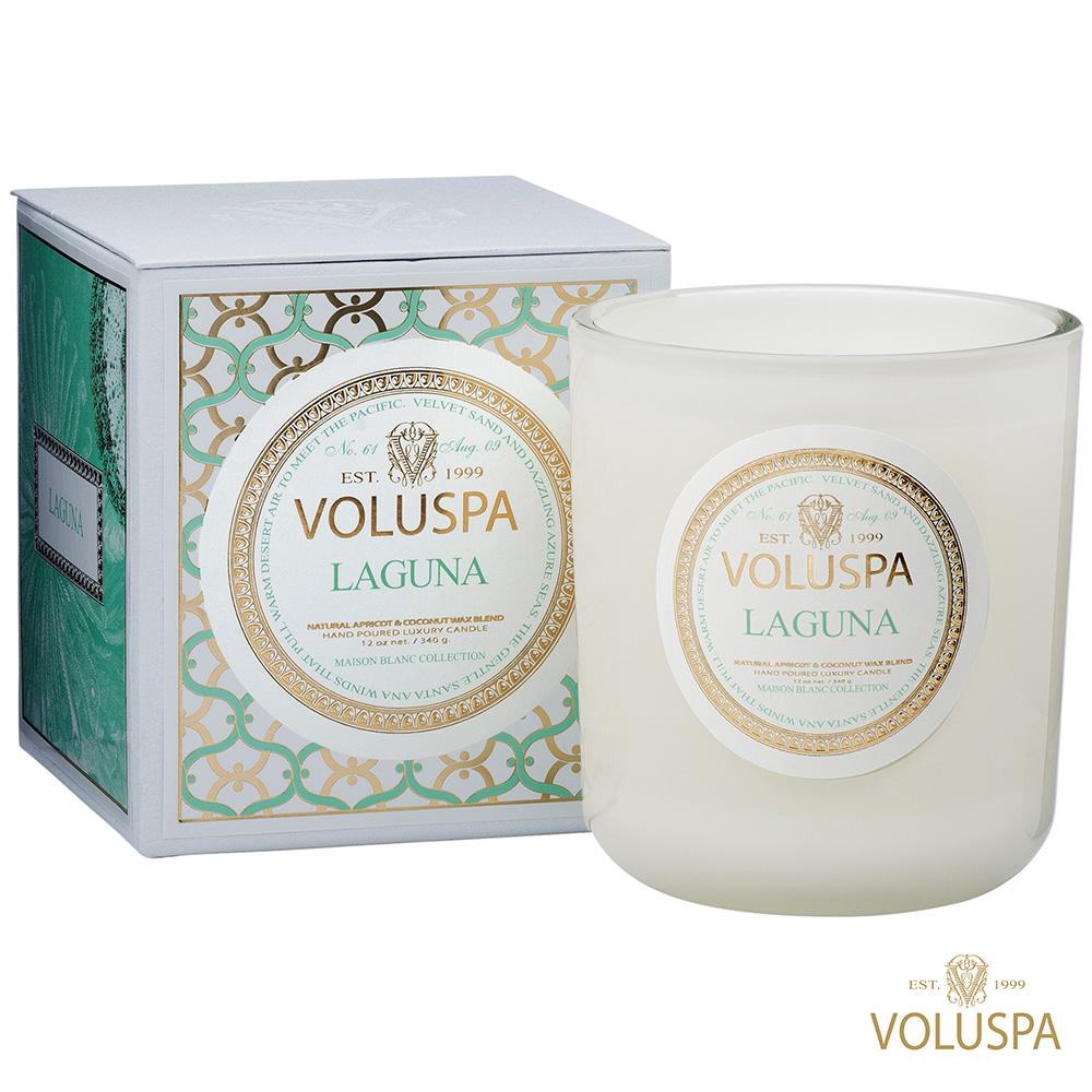 美國香氛VOLUSPA 白屋系列 Laguna 拉古納 340g