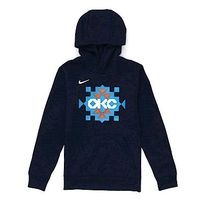 NIKE 青少年 連帽T恤 城市版 雷霆隊-WZ2B7BAZQ-THU