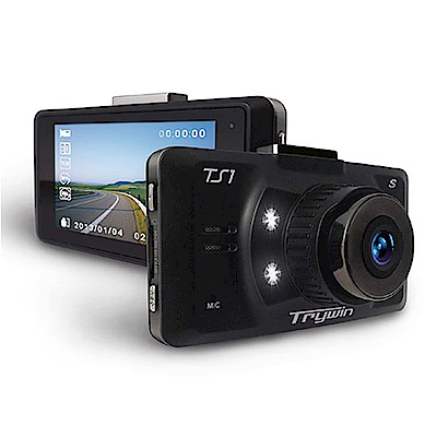 Trywin TS1 S 單機型行車記錄器 加贈16GB記憶卡