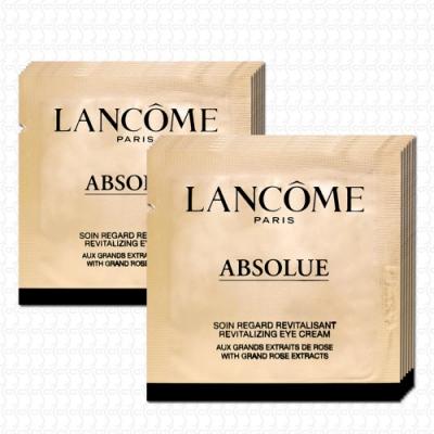 LANCOME蘭蔻 絕對完美黃金玫瑰修護眼霜1mlx12