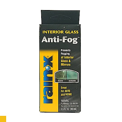 Rain-X Anti-Fog 玻璃除霧劑 除霧劑 汽車防霧劑 車窗防霧噴劑 3.5oz