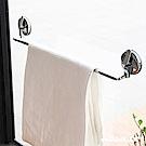 Hanlix 強力重型吸盤 一體成形純銅鏡面毛巾架