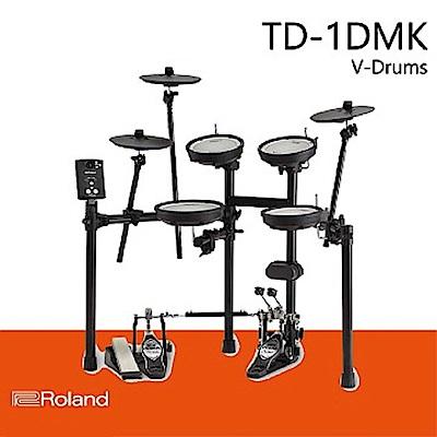 【ROLAND樂蘭】TD-1DMK 電子鼓★全網狀鼓皮 / 初學進階皆宜★公司貨保固