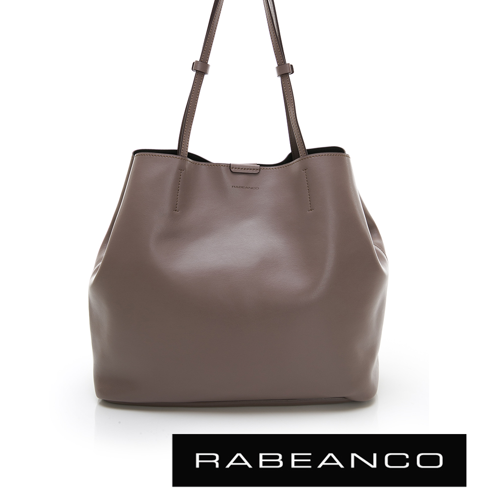 RABEANCO HARI大容量子母手提袋 深杏