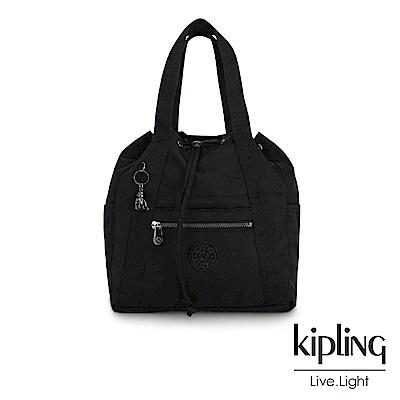 Kipling 極致低調黑兩用側背後背包-小-ART BACKPACK S