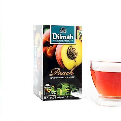 Dilmah帝瑪 水蜜桃紅茶(2gx20入)