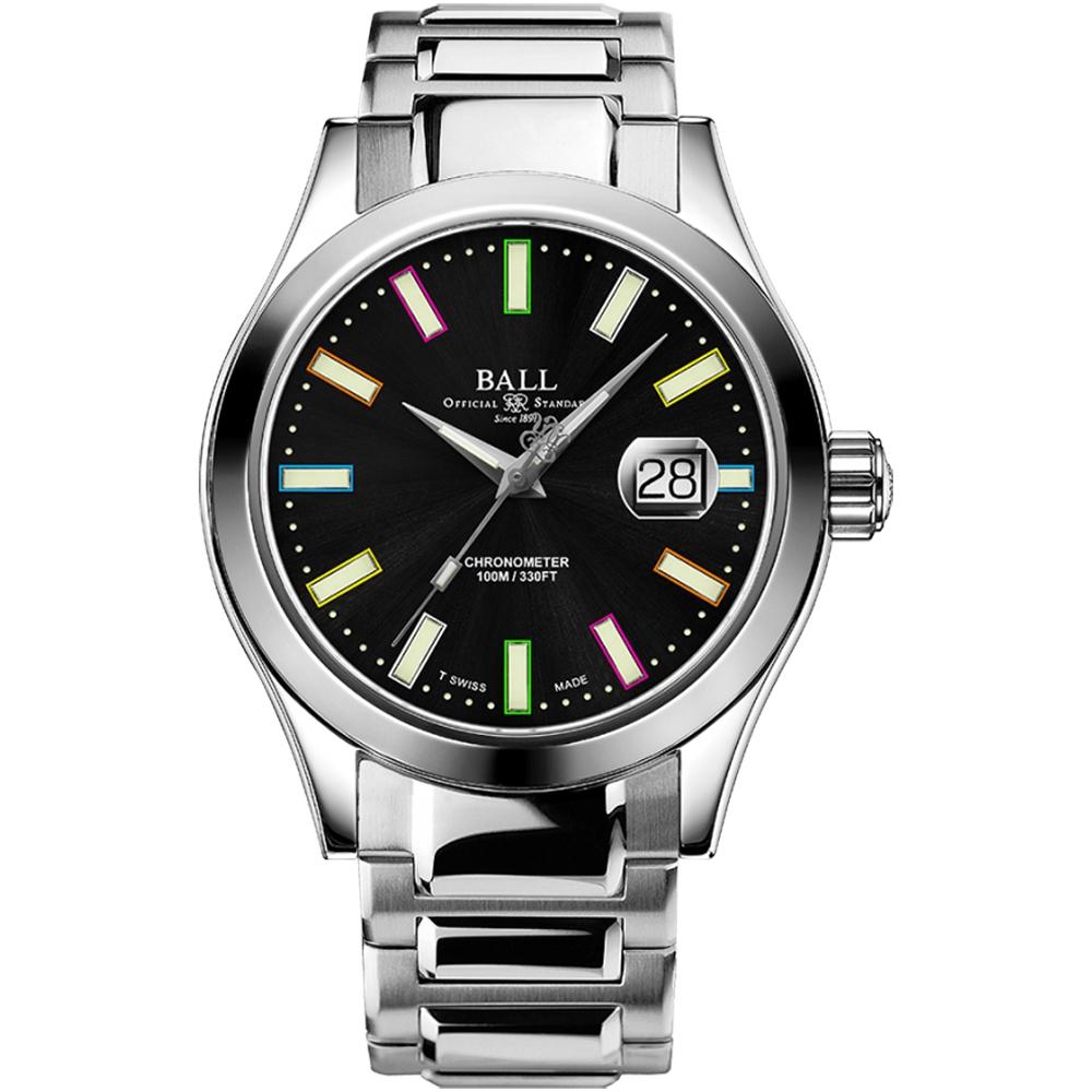 BALL 波爾錶 Engineer III Marvellight Chronometer機械腕錶(NM9028C-S29C-BK)-43mm