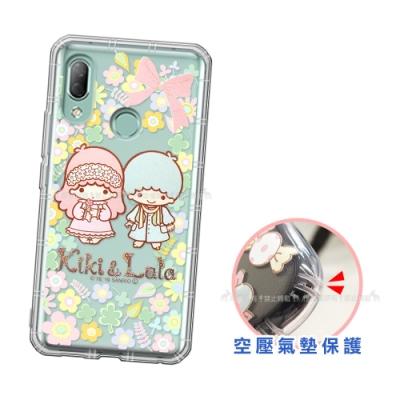 三麗鷗授權 KiKiLaLa雙子星 HTC U19e 愛心空壓手機殼(鄉村)