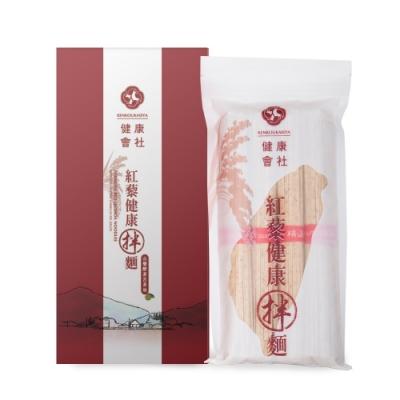 【買三送三超值組】健康會社紅藜拌麵精裝盒-山藥酵素苦茶油(1盒4入 共24入)