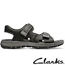 Clarks樂活都市輕便真皮運動涼鞋-CLM31545SS18