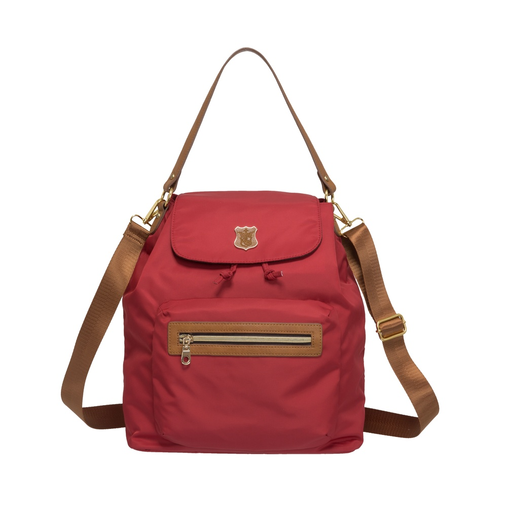 Bella Borsa 三用束口後背包-紅 BB16A018RD