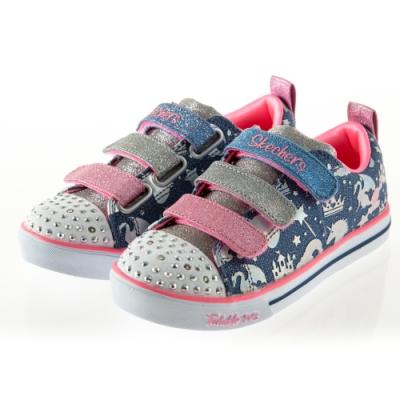 SKECHERS 女童系列SPARKLE LITE 燈鞋 - 20274LLBMT