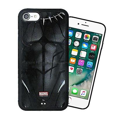 漫威授權 iPhone SE2/8/7 4.7吋 共用 黑豹電影版 防滑手機殼(帝查拉) 有吊飾孔